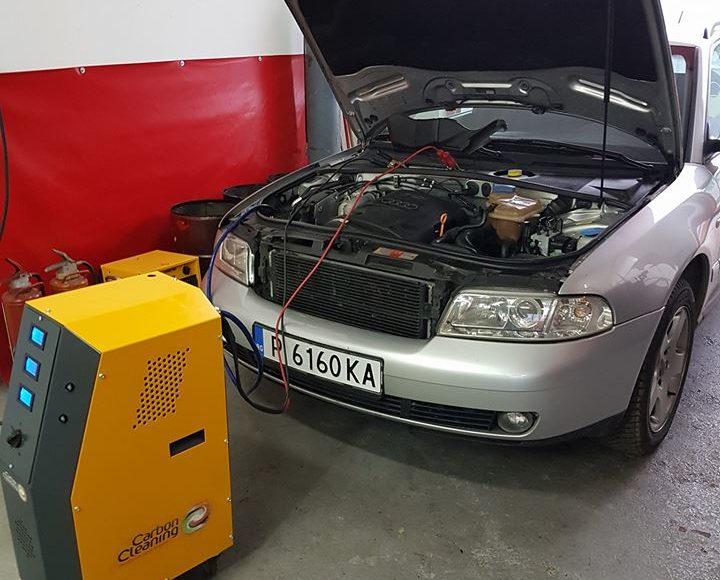 Вътрешно почистване на двигатели
