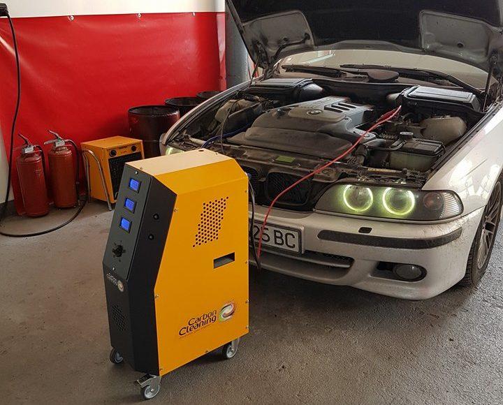 Водородно почистване на двигател на BMW
